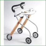 lets go indoor lichtgewicht design rollator voor binnenshuis