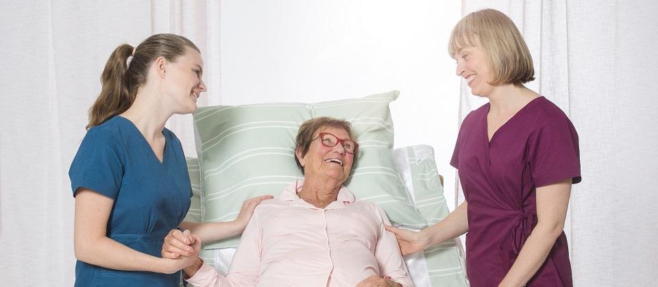 goede bedhoogte voor zorgverleners