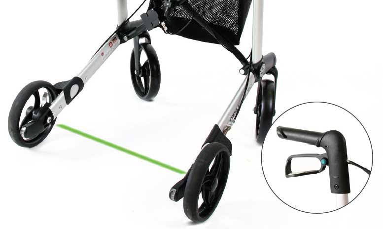 parkinson rollator laser=